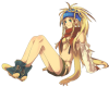 Rikku Dress Plain.png